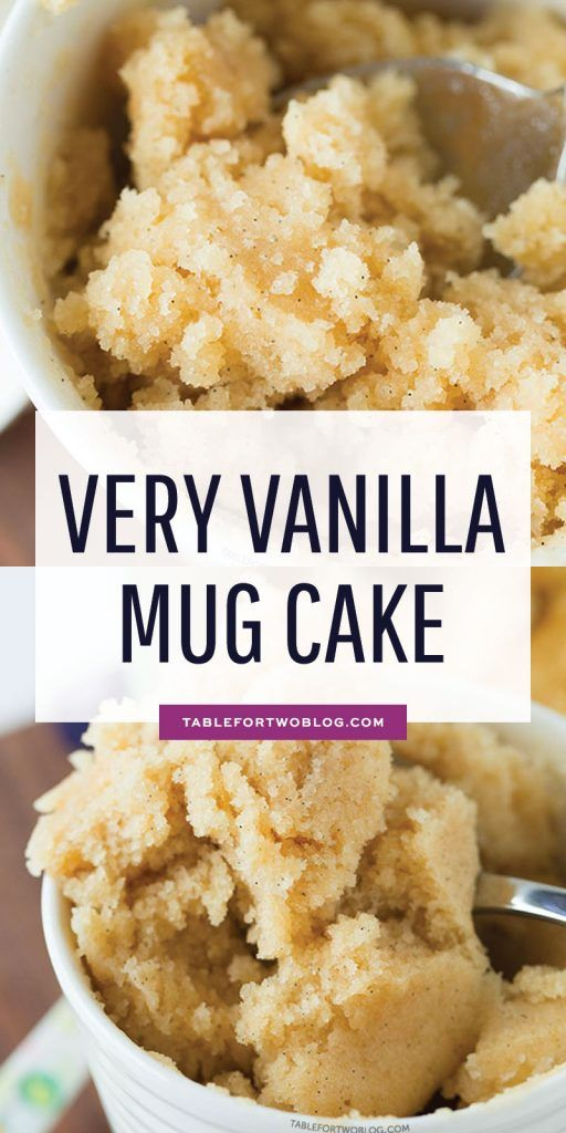 very vanilla mug cake - Easy Recipe and DIY Tips