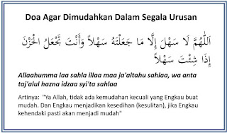 Bacaan Doa Agar Dimudahkan Dalam Segala Urusan