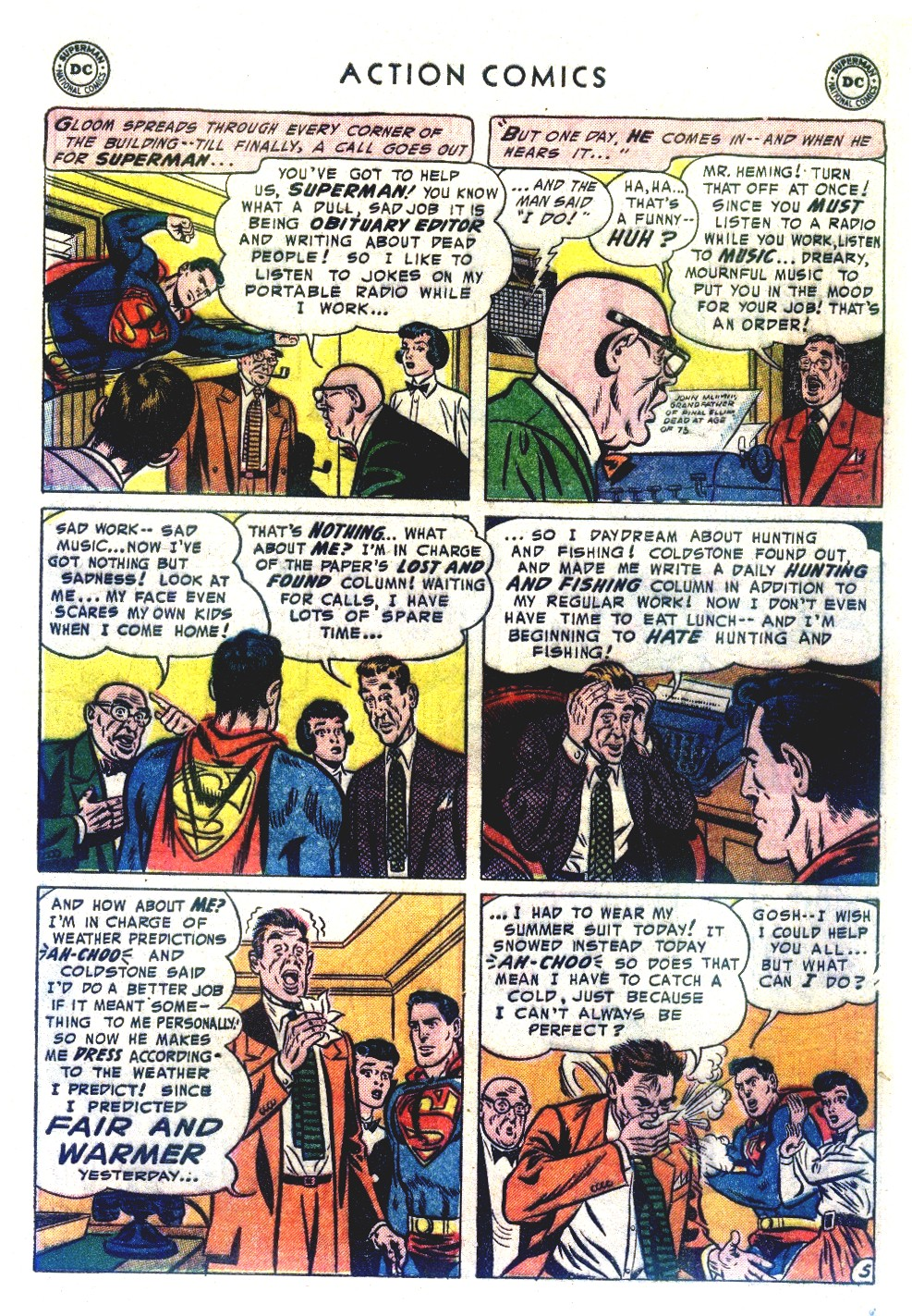 Read online Action Comics (1938) comic -  Issue #192 - 7