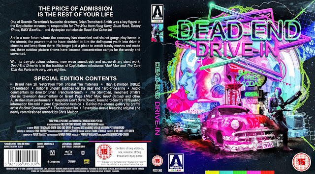 Dead End Drive-In (1986) Bluray Cover