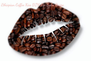 Make coffee lip balm with just 4 ingredients