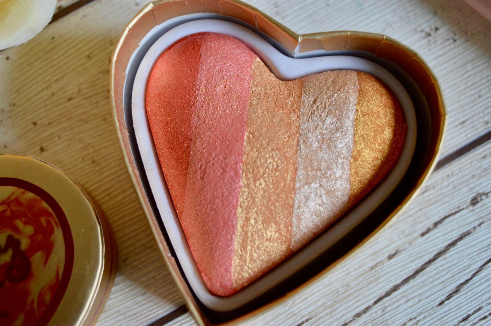 I heart makeup dragons heart highlighter review