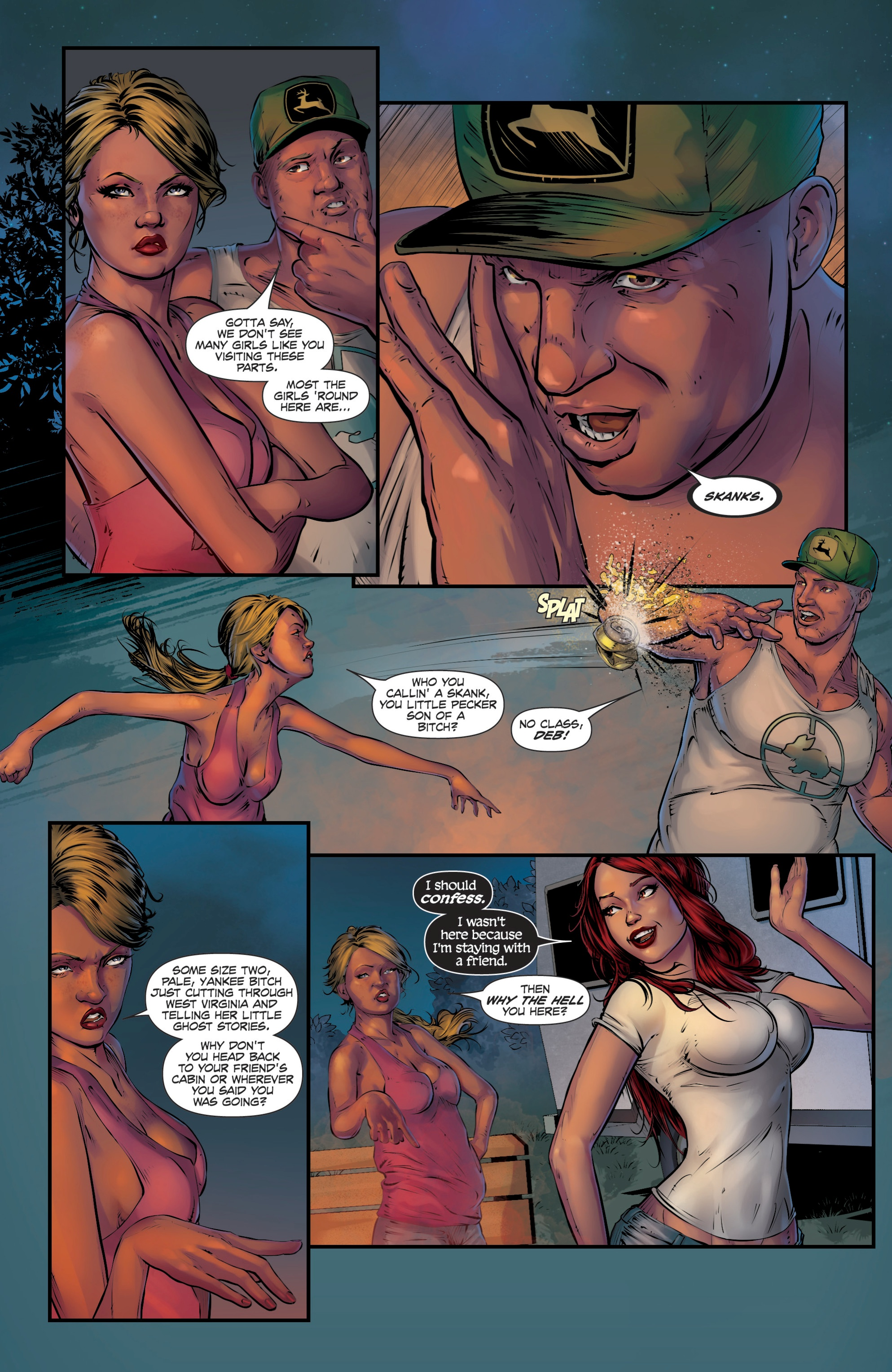 Read online Grimm Fairy Tales presents Death comic -  Issue # Full - 4