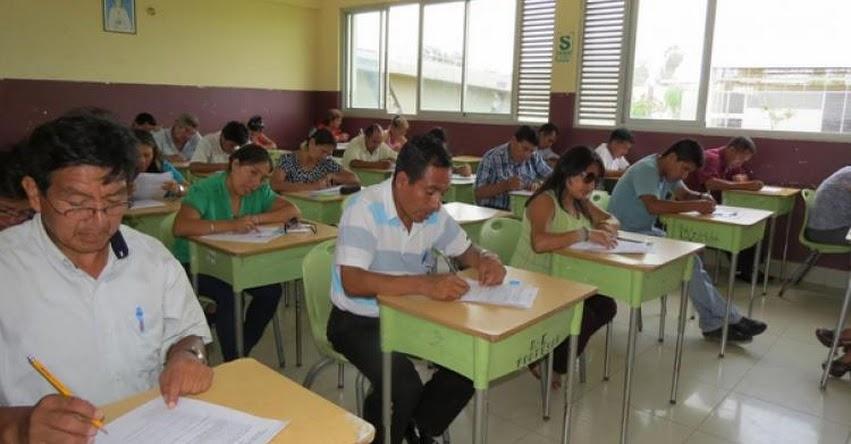 Cerca de 8 mil docentes buscan plaza de nombramiento en Lambayeque. Locales para rendir el examen