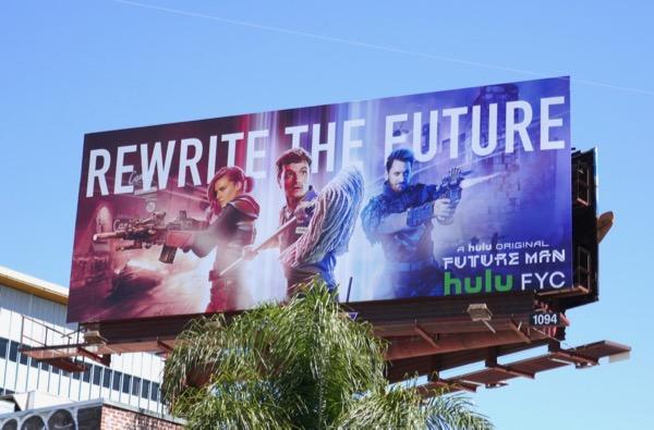 Future Man season 1 Emmy FYC billboard