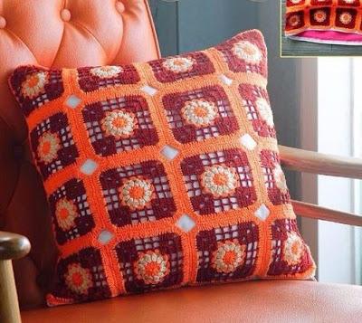 Cojines tejidos a crochet con gr ficos para imprimir cositasconmesh - Hacer cojines de punto ...