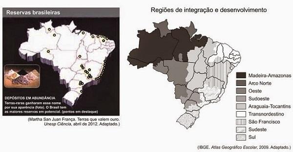 Brasil: Extrativismo Mineral e Vegetal - Questões de