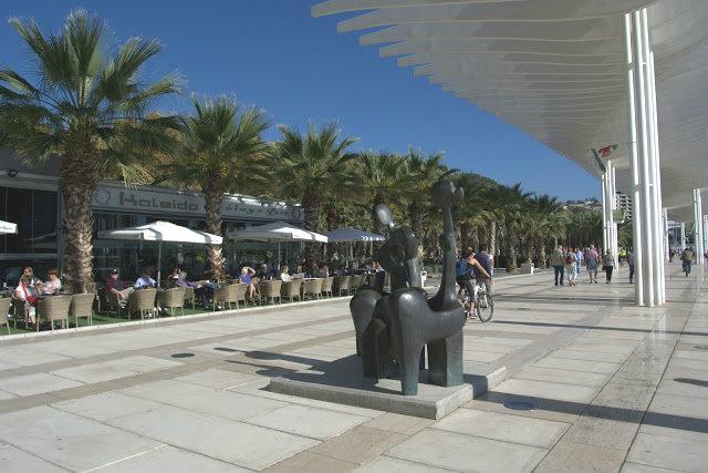 Malaga jest idealnym miejscem na wakacje