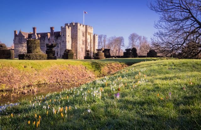 Hever Castle snowdrop days