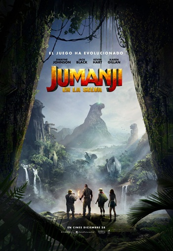 Jumanji 2017 Dual Audio Hindi 720p HDTS 1GB