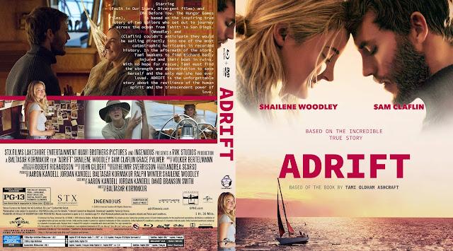 Adrift Bluray Cover