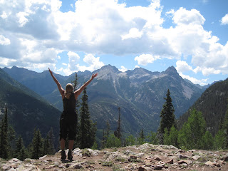Mountain Pose in the San Juans
