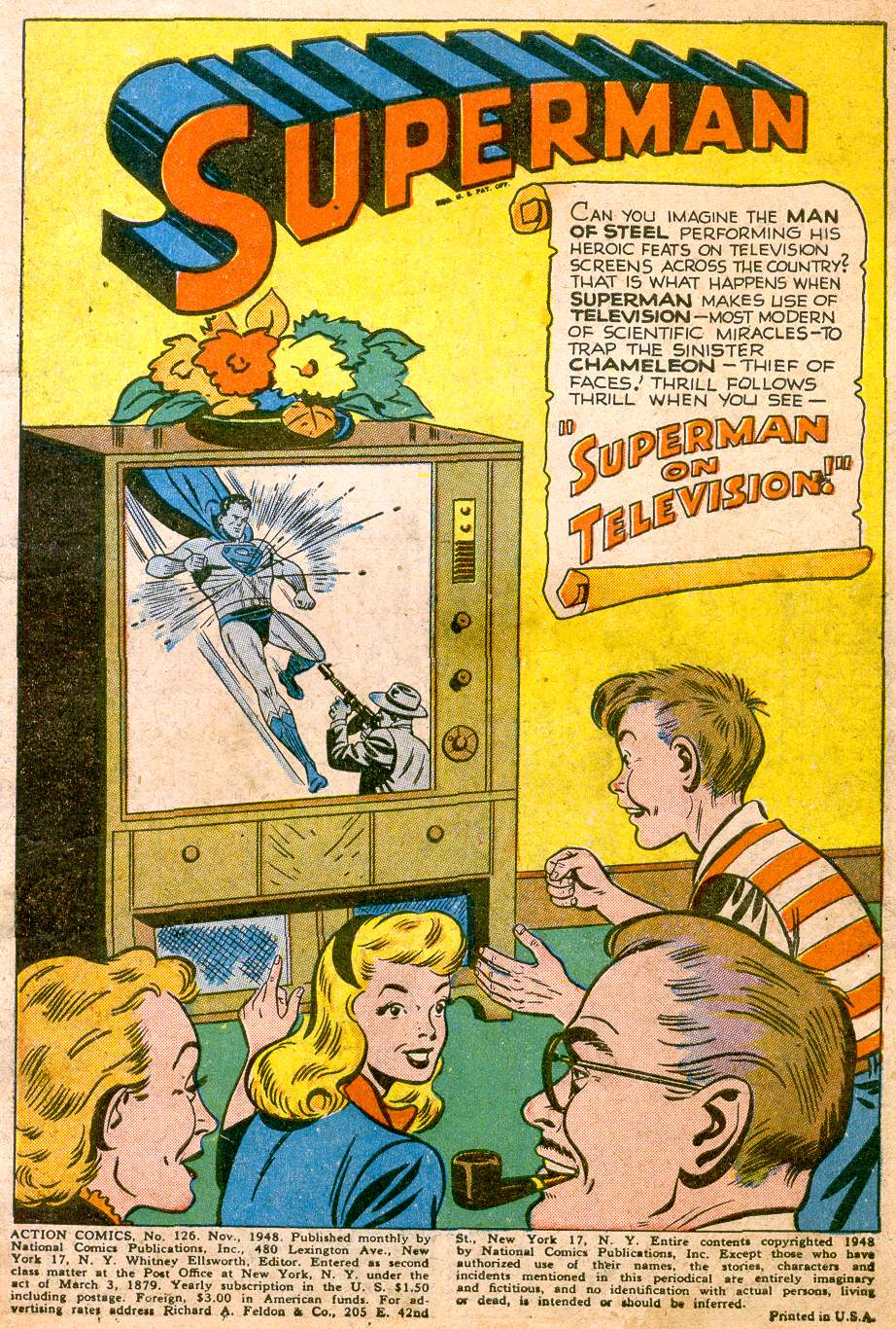 Read online Action Comics (1938) comic -  Issue #126 - 3