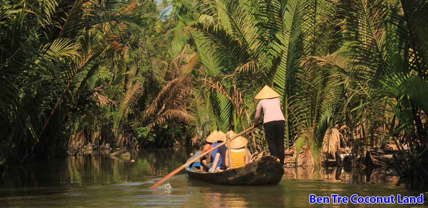real-mekong-delta-tour-Ben-Tre-Coconut-Land