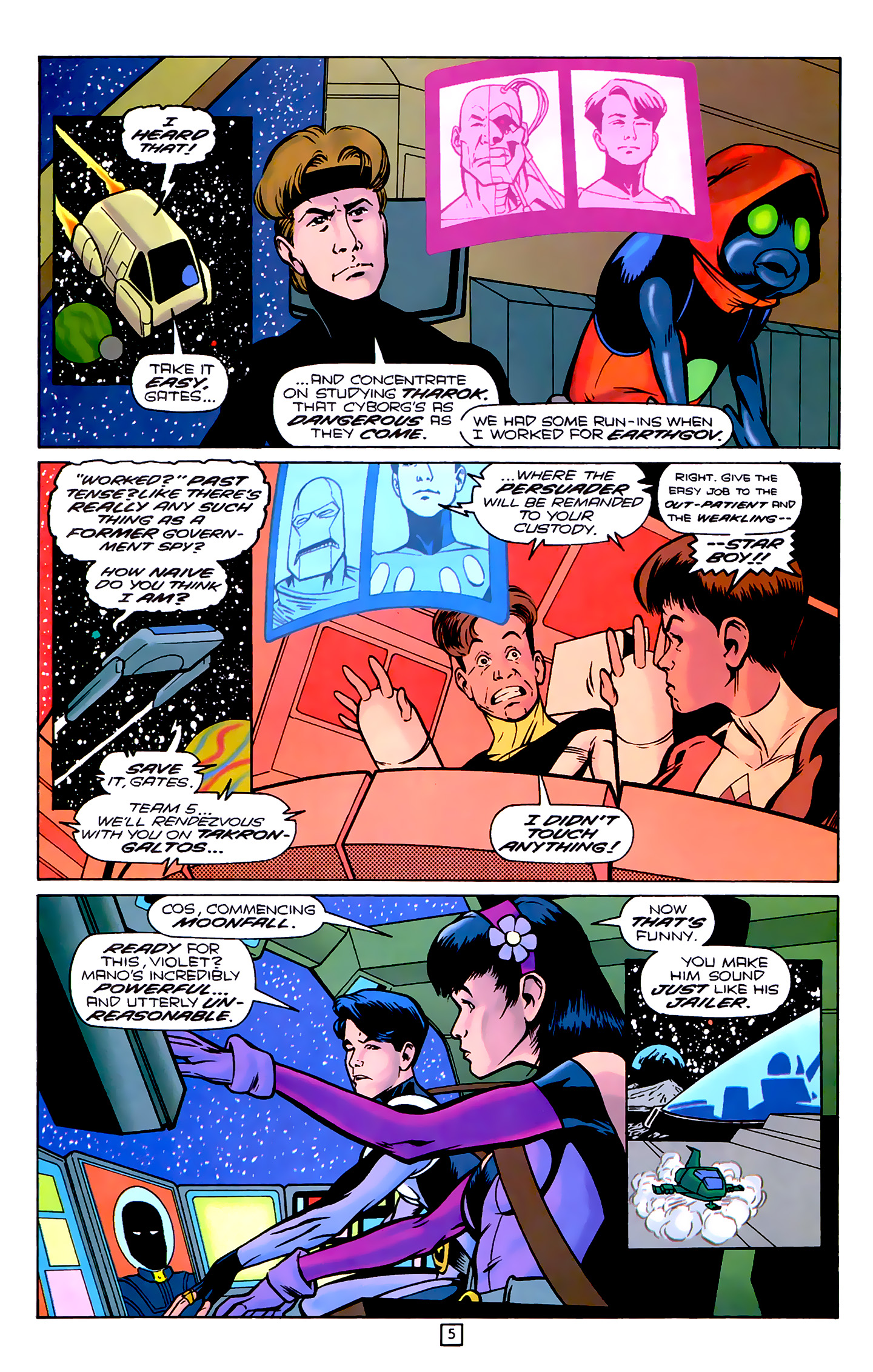 Legion of Super-Heroes (1989) 78 Page 5