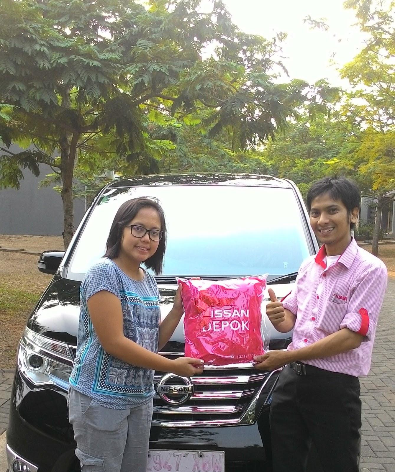 Terimakasih atas kepercayaan Bu Anggi & Keluarga yg telah membeli Nissan All New Serena melalui media www.touchnissan.com.  Semoga Berkah ya Bu...