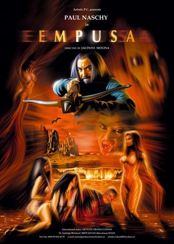 Empusa, Paul Naschy, Vampire films, Horror films, Vampire movies, Horror movies, blood movies, Dark movies, Scary movies, Ghost movies