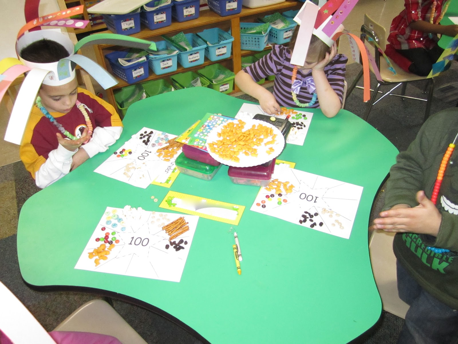 Under The Alphabet Tree 100th Day Fun In Pictures