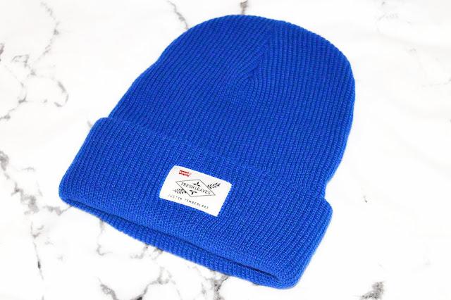 Levi's X Justin Timberlake Blue Beanie Hat