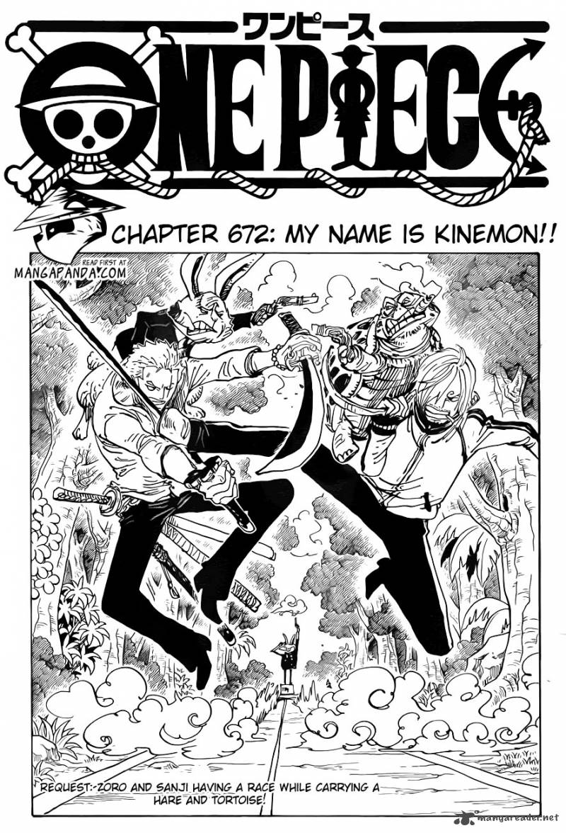 One Piece 672 : My name is Kinemon!!