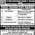 AL Noor Girls Public School & College Jajja Mandra Jobs