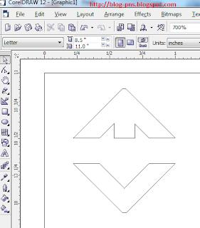 cara membuat logo transtv