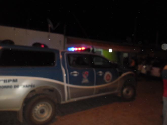 Homicídio Agora a pouco na Cidade de Morro do Chapéu
