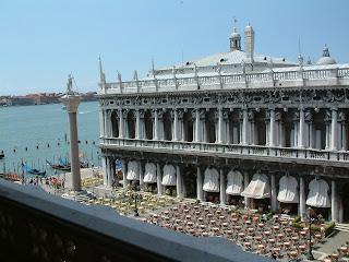 The Biblioteca Marciana in Venice