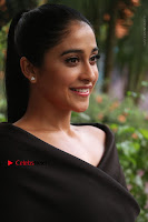 Actress Regina Candra Pos in Beautiful Black Short Dress at Saravanan Irukka Bayamaen Tamil Movie Press Meet  0005.jpg