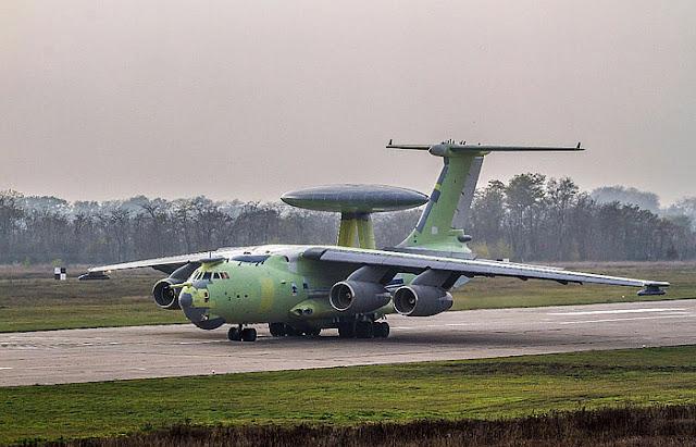 Российский самолет А-100 совершил первый полет