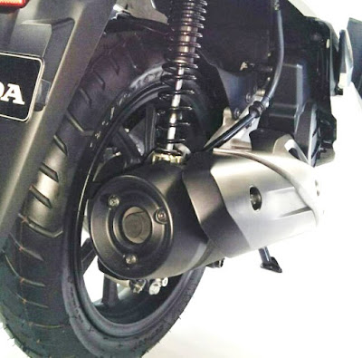 All New Honda PCX dengan Rem Cakram Belakang