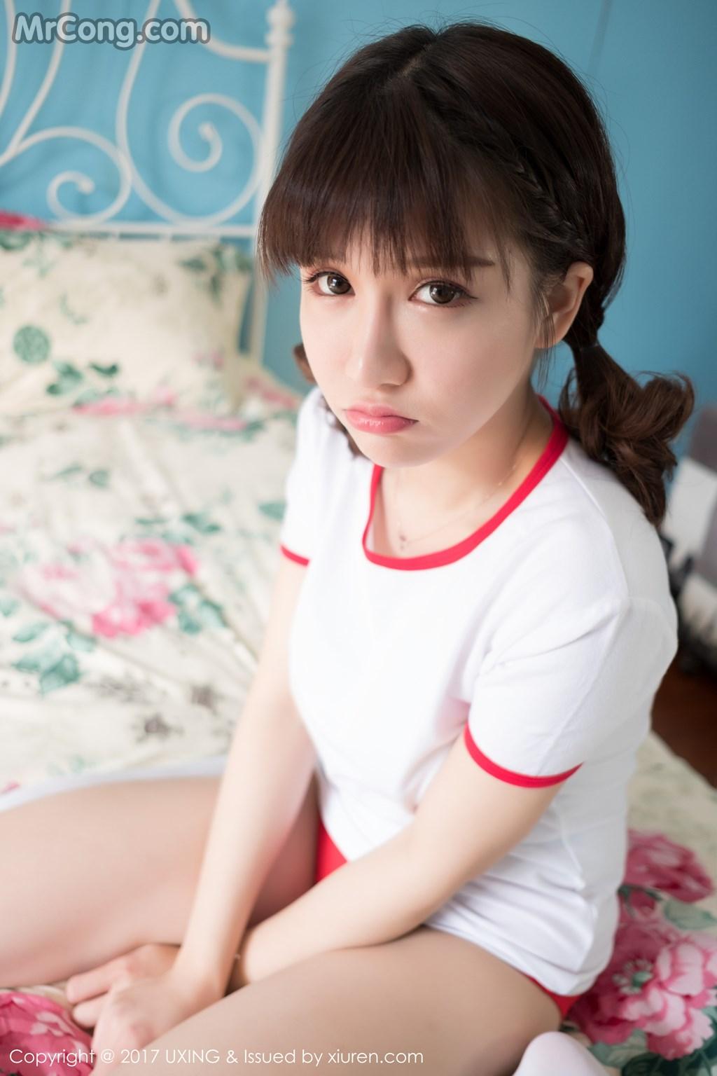 Image UXING-Vol.040-Aojiao-Meng-Meng-MrCong.com-008 in post UXING Vol.040: Người mẫu Aojiao Meng Meng (K8傲娇萌萌Vivian) (61 ảnh)