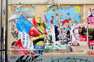 Sunday Street Art : Combo - passage Brady - Paris 10