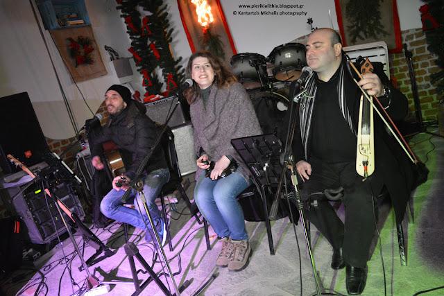 Η μουσική στα... καλύτερα της! Στο Χριστουγεννιάτικο Χωριό του Κόσμου στην Κατερίνη.