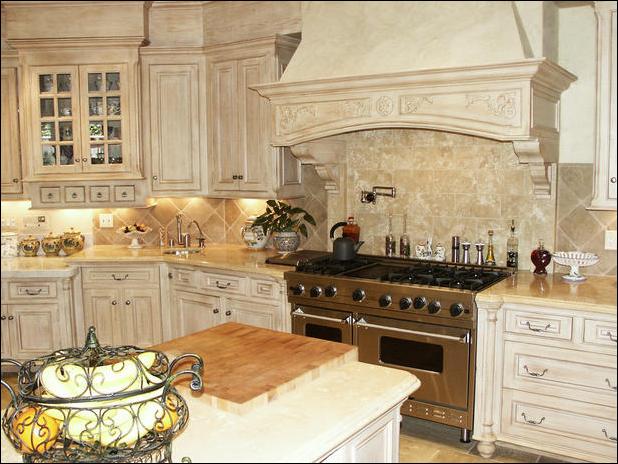 Old World Kitchen Decorating Ideas