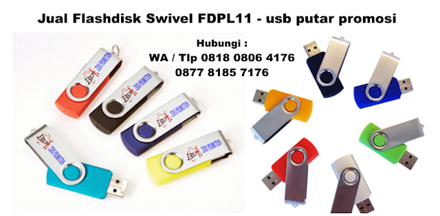 Jual Flashdisk Swivel FDPL11 - usb putar promosi