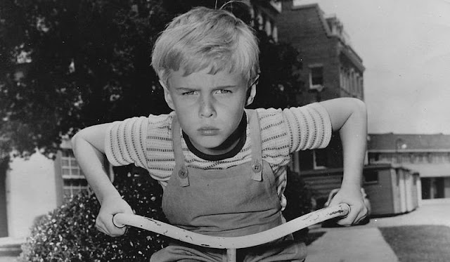 Image: Publicity photo of child actor Jay North promoting his starring role on the CBS television comedy series Dennis the Menace