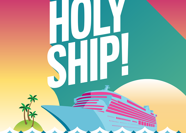 Holy Ship! Logo