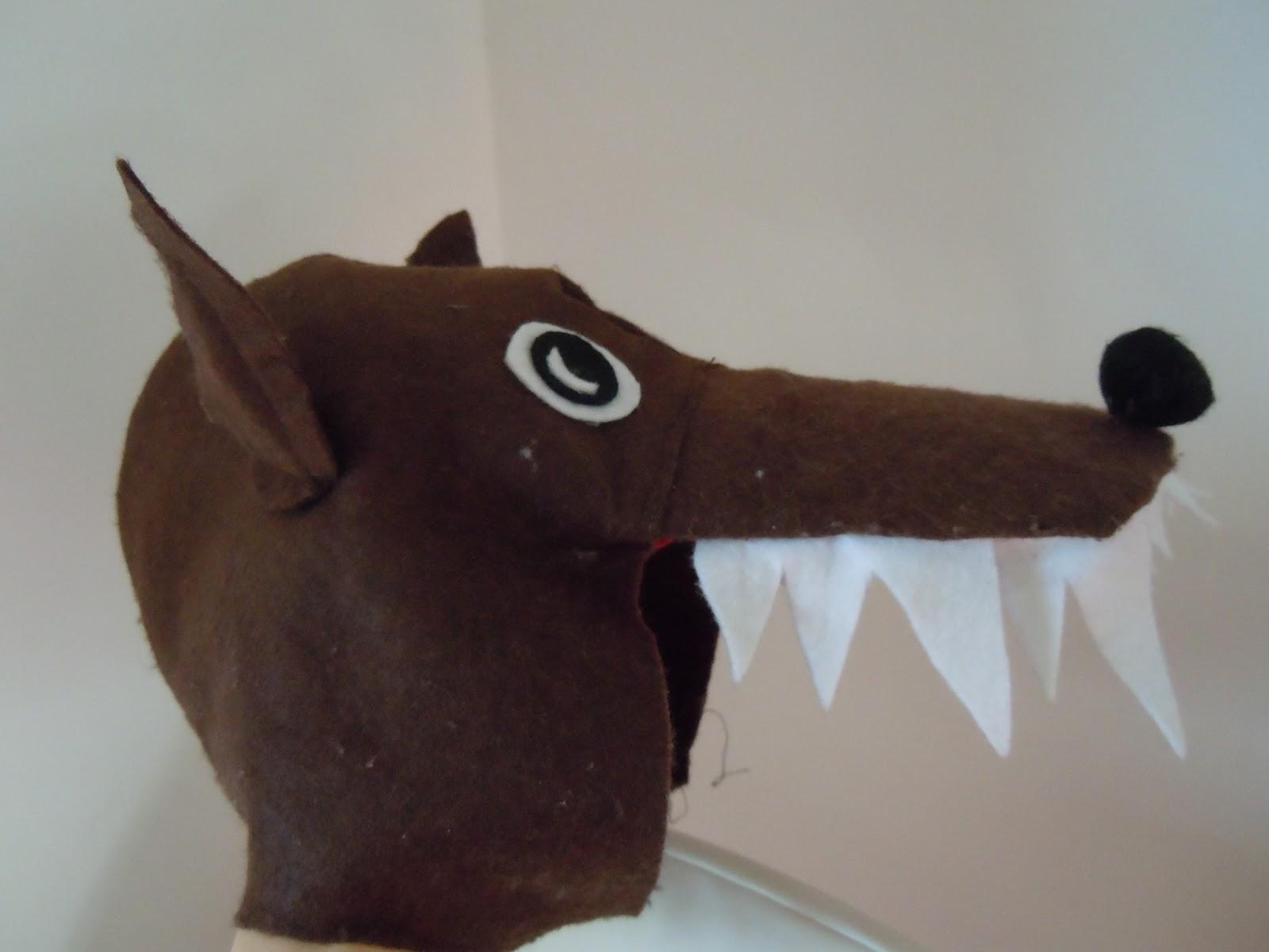 abbastanza Decora Recicla Immagina: Maschera lupocome costruirla! - The Wolf JL42