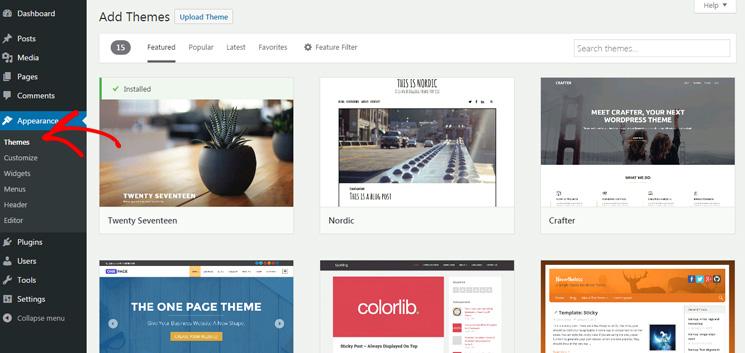Merancang Blog WordPress