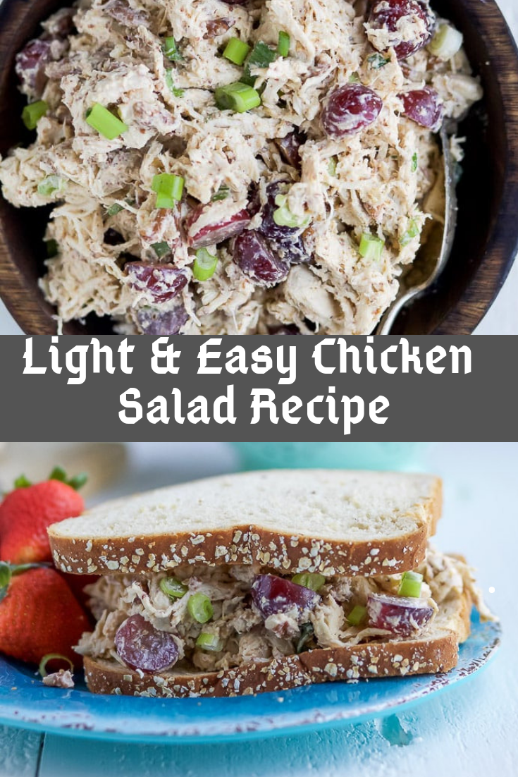 Light & Easy Chicken Salad Recipe