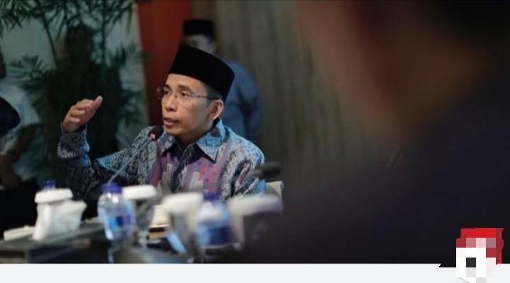 TGB Tanggapi Debat Capres, Netizen Kutip Hadits Dahsyat Ini