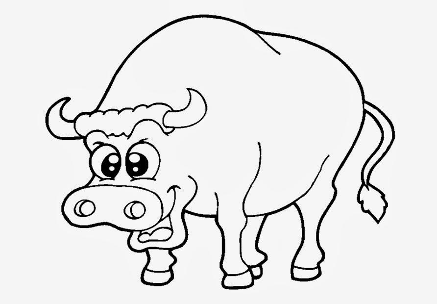 Dibujos San Fermin Para Colorear: Recursos Para Educación Inicial: ANIMALES PARA COLOREAR