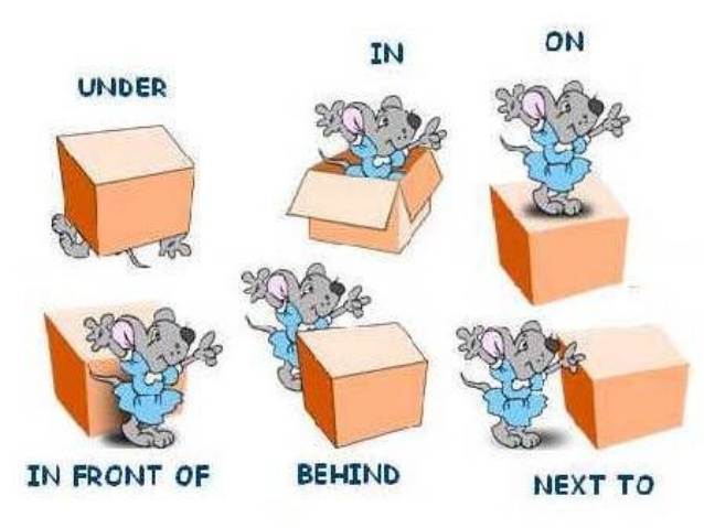 MY ENGLISH CORNER: PREPOSITIONS OF PLACE - 2ND LEVEL