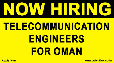 Telecommunication Jobs in Oman