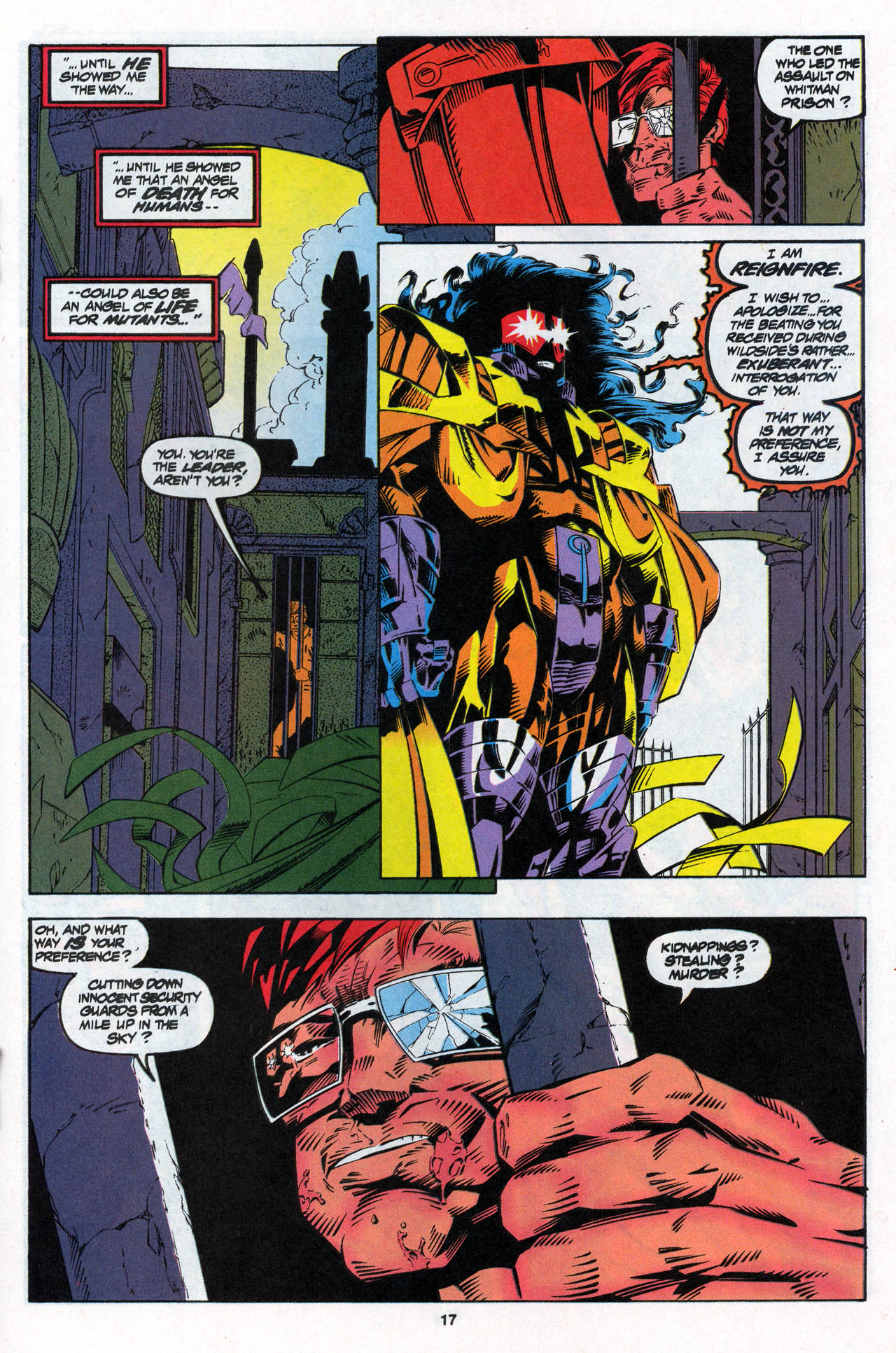 Read online X-Force (1991) comic -  Issue #27 - 18