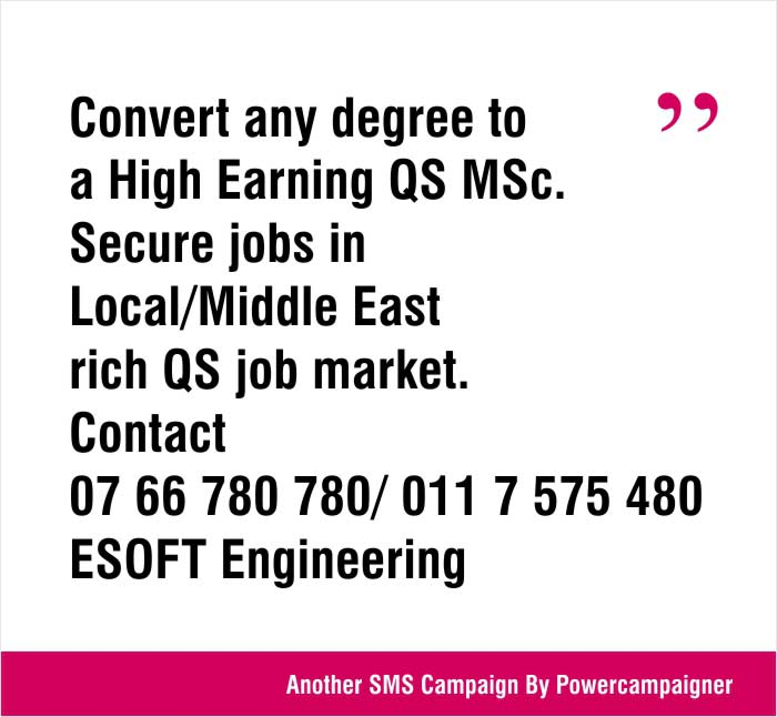 Convert any degree to  a High Earning QS MSc.