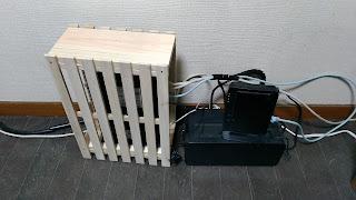 ルーター Wifi ルーターボックス 目隠し DIY 自作