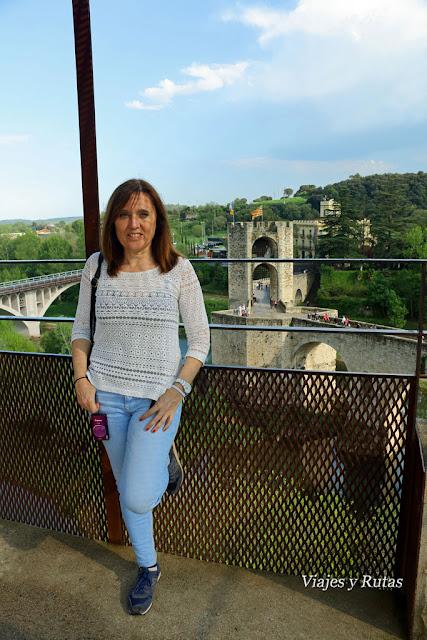Mirador de Besalú, Girona