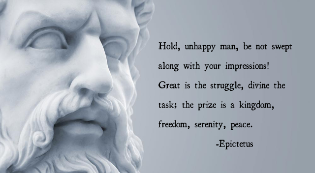 Epictetus  quotes happiness